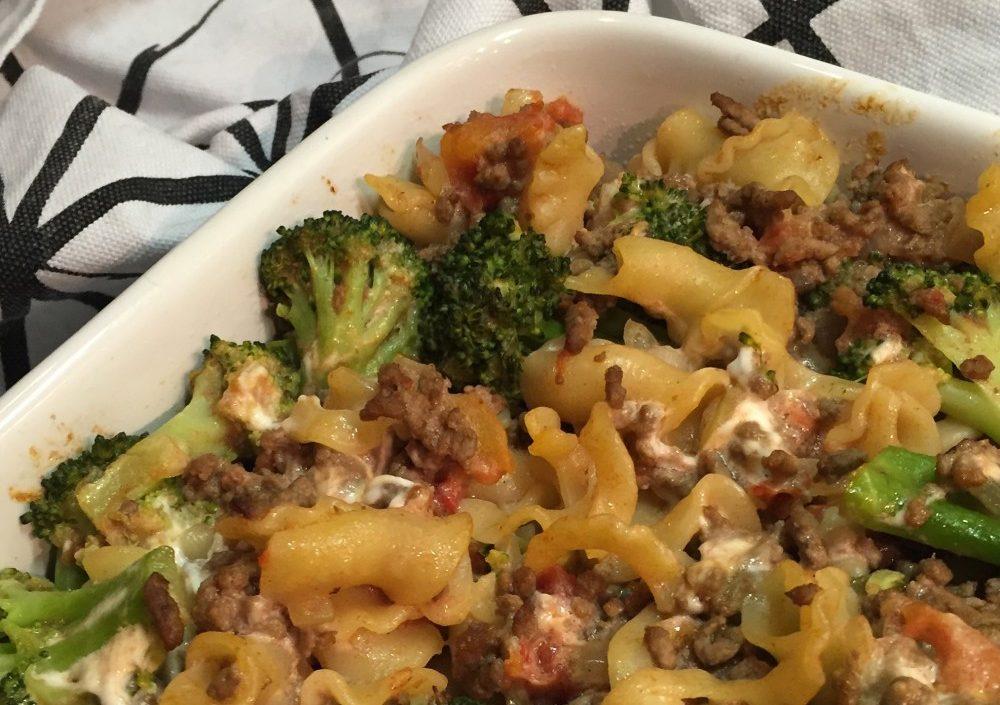 Ovenpasta met broccoli en geitenkaas