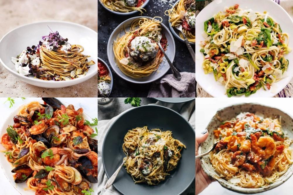 Pinspiratie: 6x spaghetti recepten