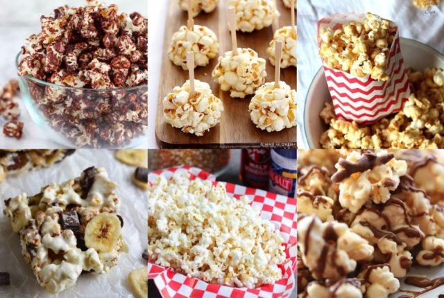 Pinspiratie: popcorn recepten