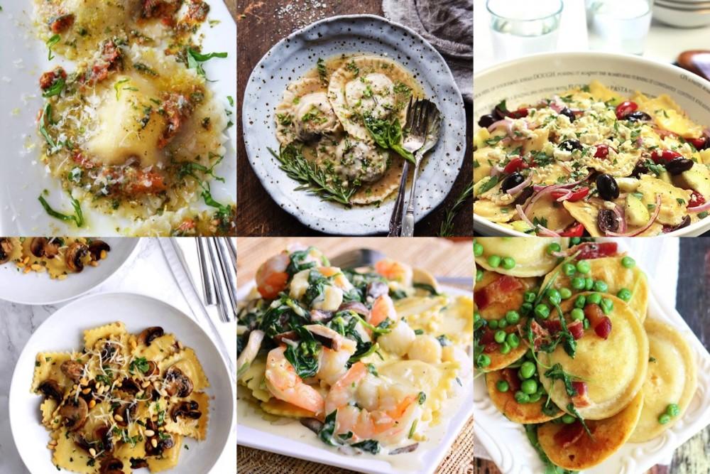 Pinspiratie: ravioli recepten voor ravioli day