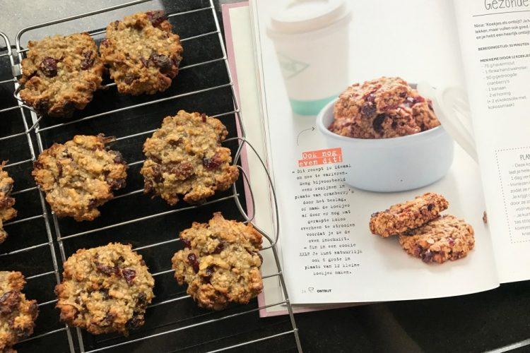 gezonde breakfast cookies: chickslovefood.com