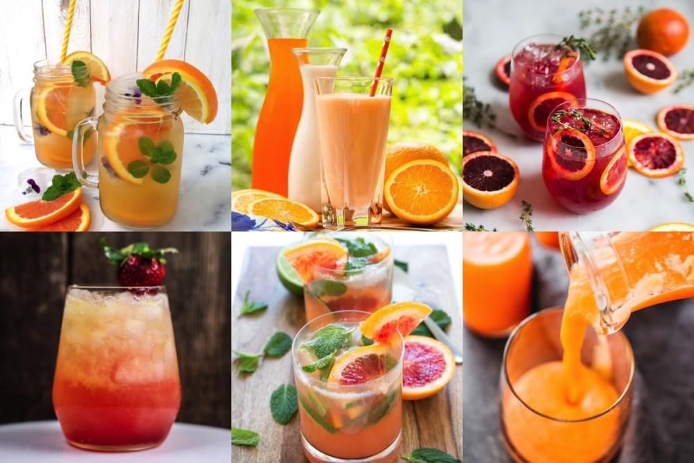 Koningsdag oranje drankjes
