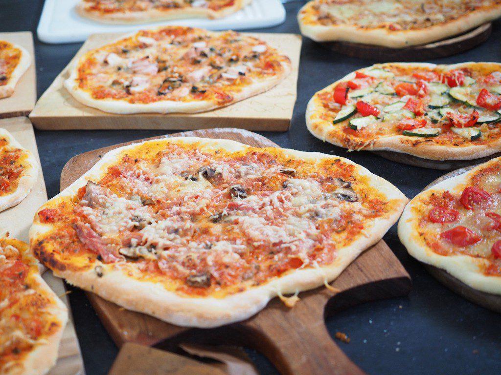 6x pizza party foto