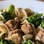 Pasta broccoli e salsiccia: een allemansvriend