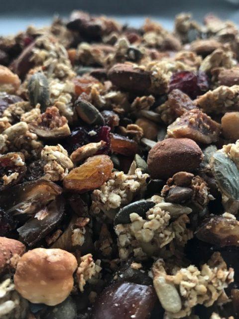Homemade granola uit de oven