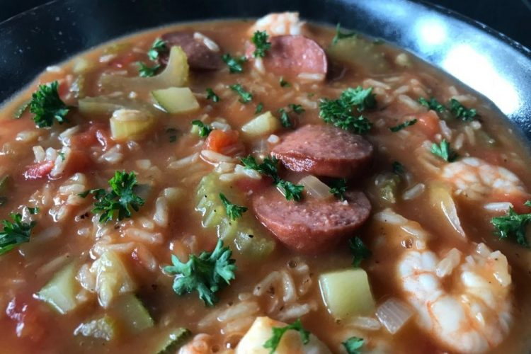 jambalaya soep