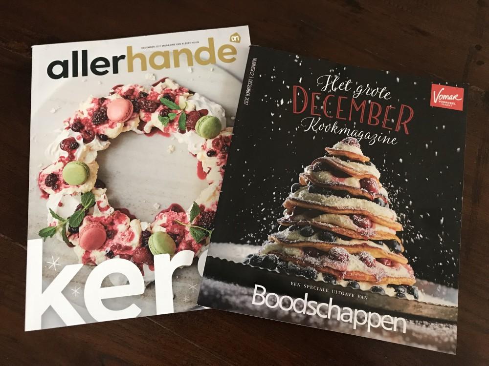 kerst editie allerhande boodschappen magazine