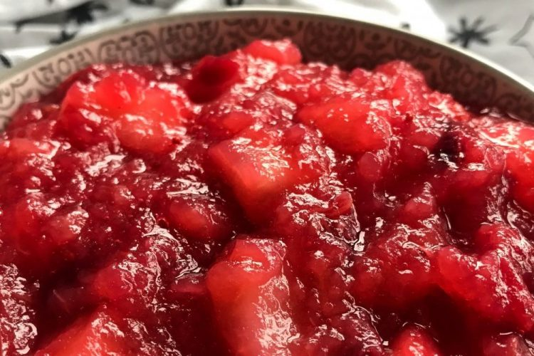 appel cranberry compote 2