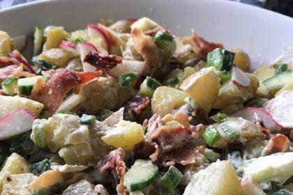 goed gevulde aardappelsalade