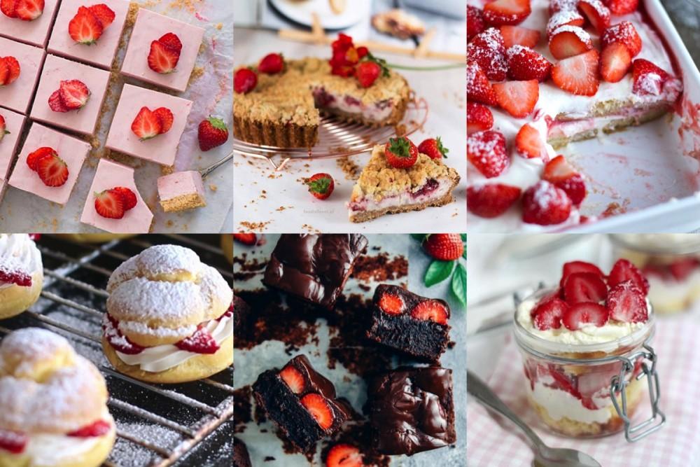 aardbeien desserts