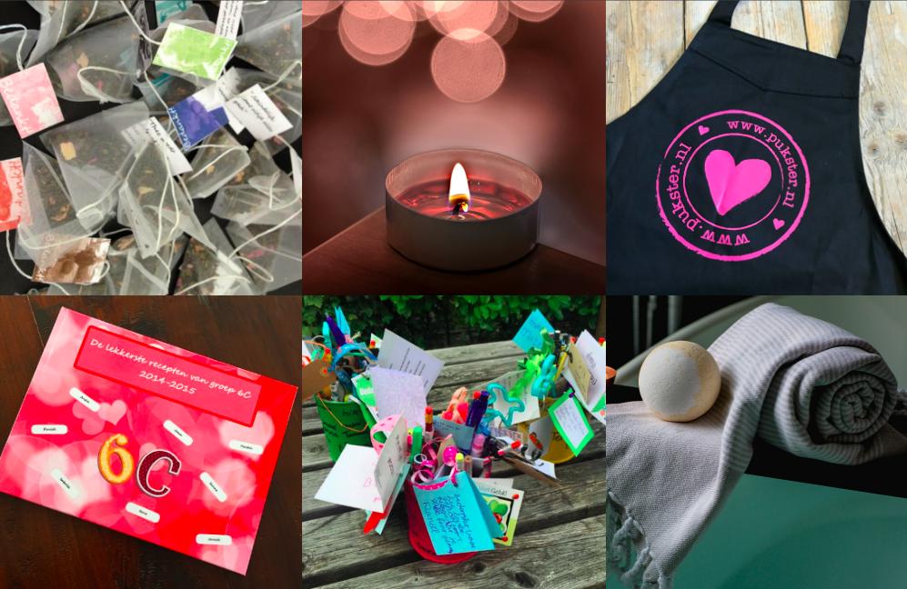 Bedwelming Einde schooljaar: cadeautjes voor juf/meester | www.pukster.nl @UJ68