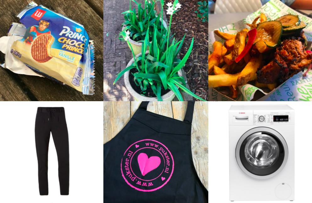 Friday Favorites #4: een kookschort,sweatpants, domibo...