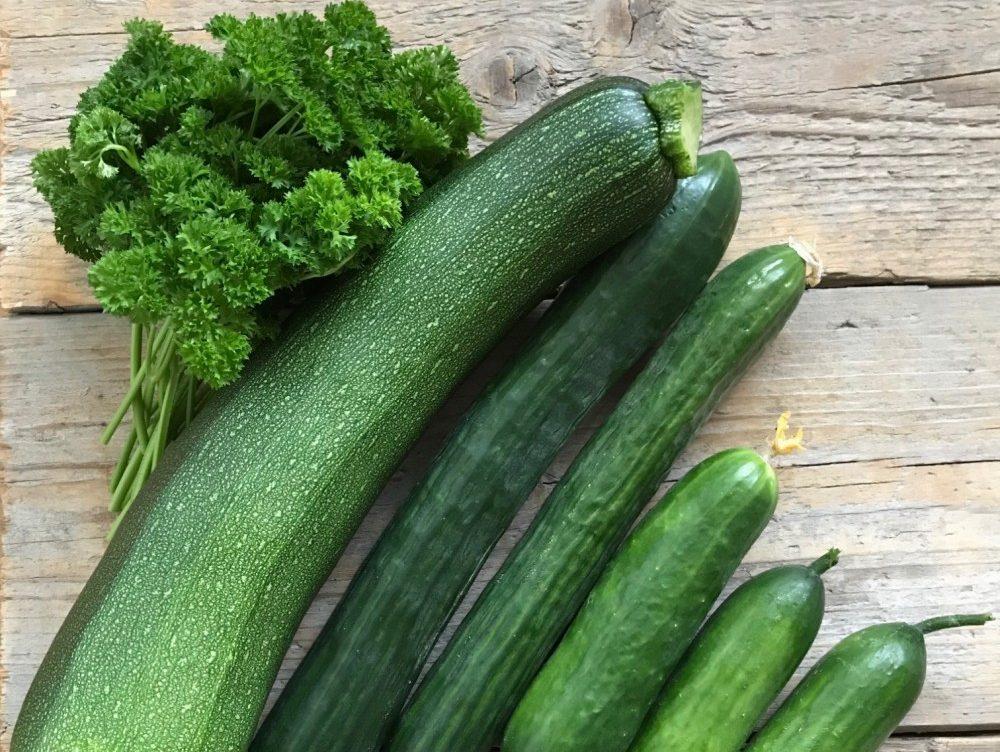 groenten uit de tuin