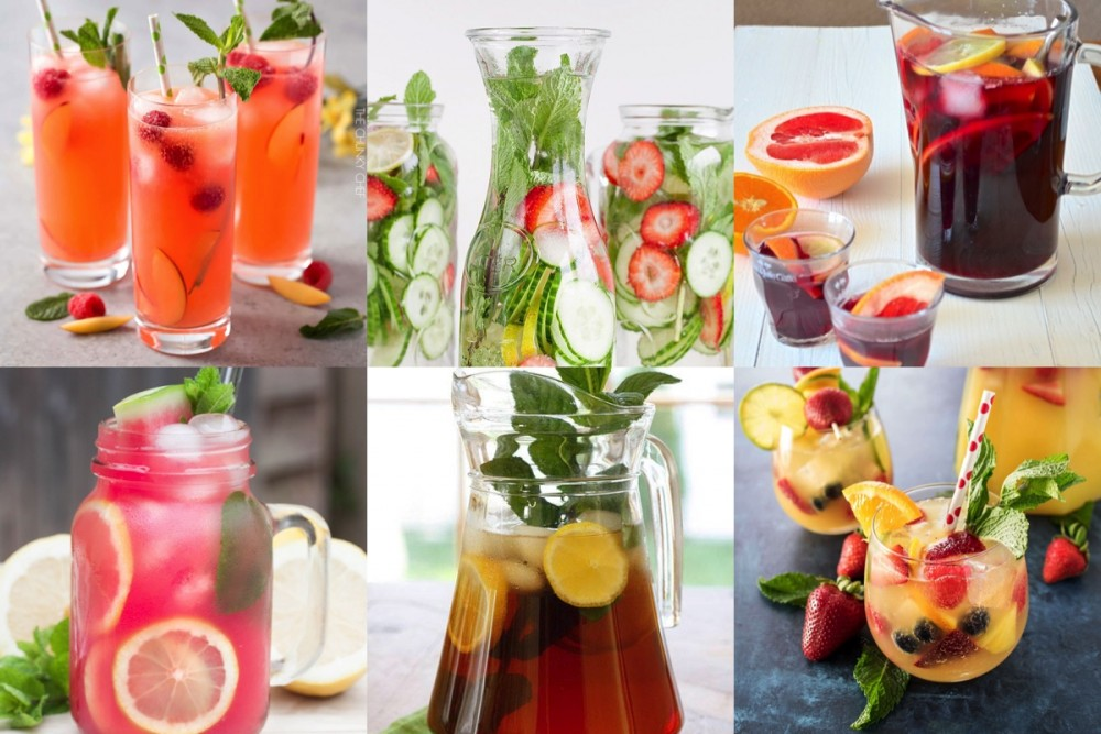 6x zomerse drankjes