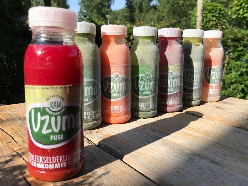 Uzuma green slow juice: een mega vitamineshot