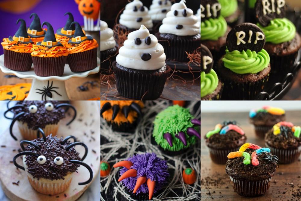 halloween cupcakes recepten