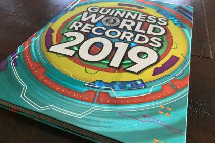 Guiness World Records 2019 boek