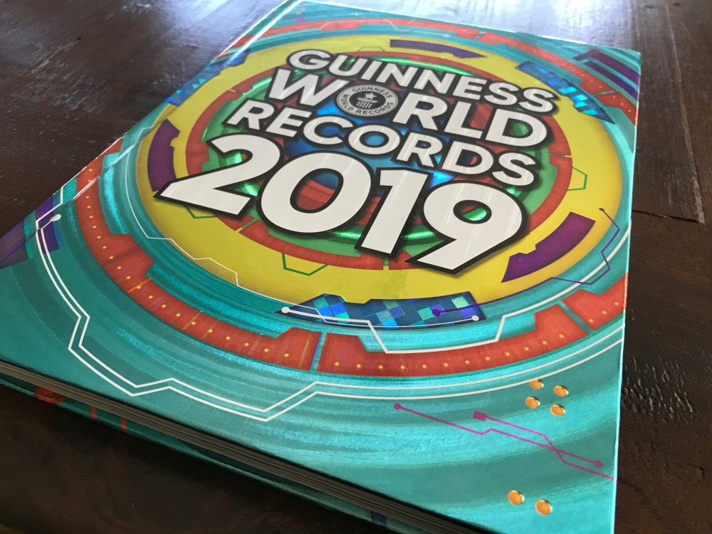 Guiness World Records 2019 boek