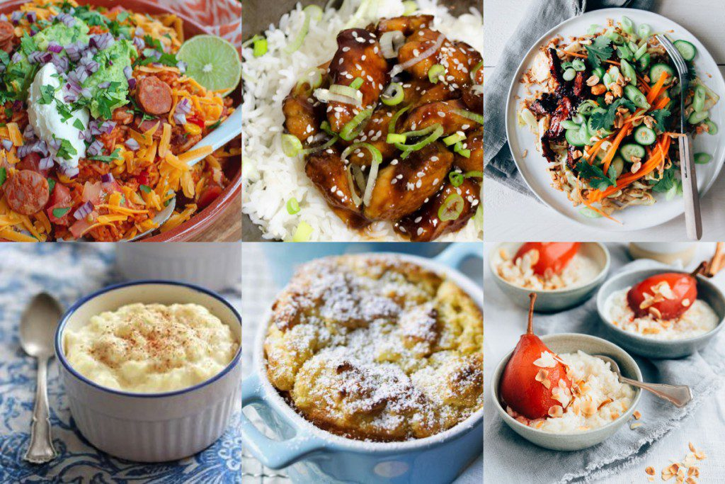 6x rijst recepten