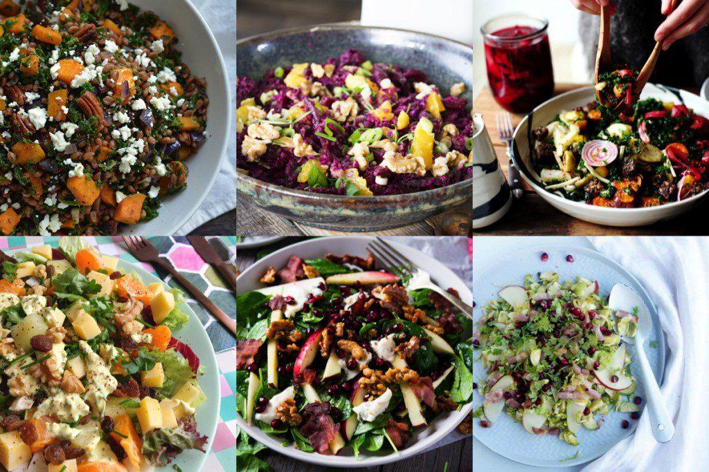 6x winterse salades