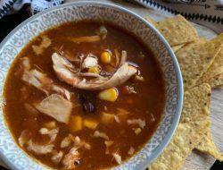 mexicaanse soep uit de Crock-Pot