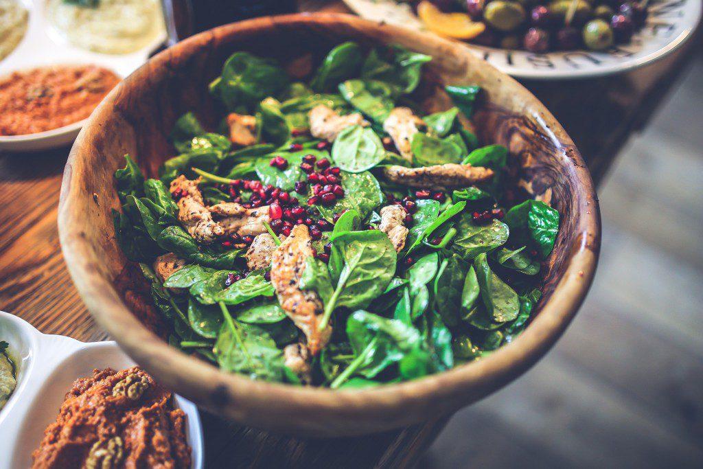 winterse salades foto