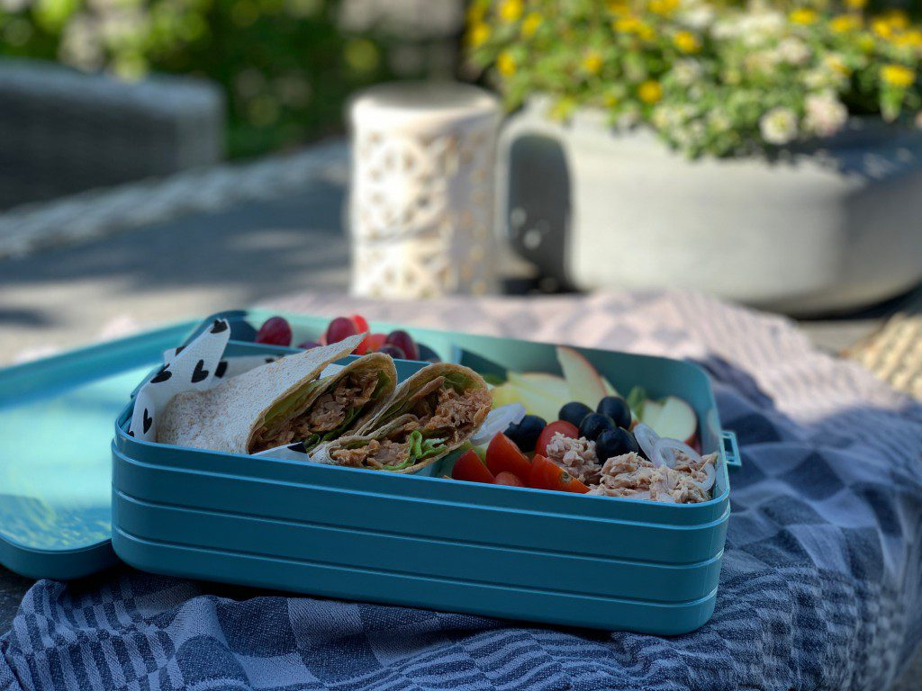 picknick recept: wraps met tonijn