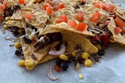 nachos met gehakt recept