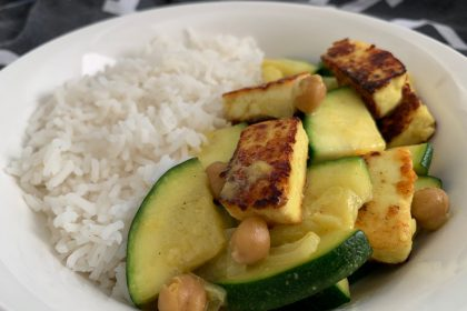 vegetarische curry met paneer en courgette recept