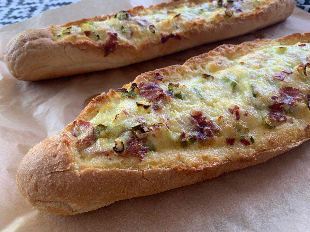 bacon-ei-kaas-bootje recept