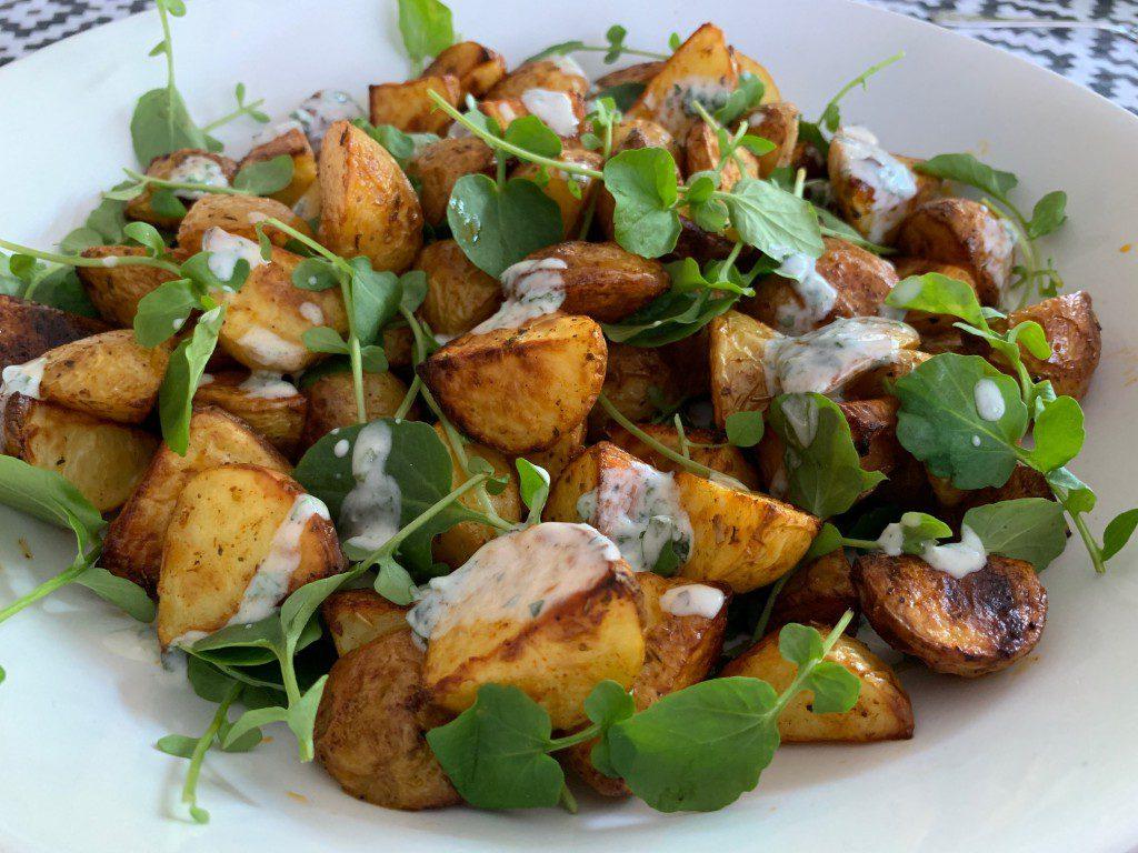 Gekruide aardappels uit de oven recept