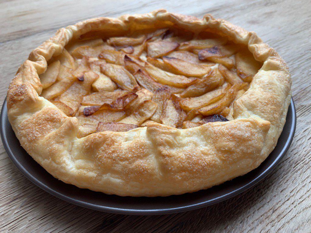 galette met gekarameliseerde appel recept