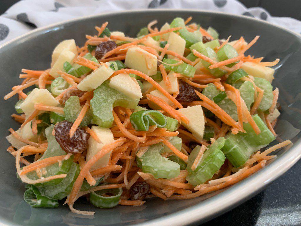 wortel bleekselderij salade recept