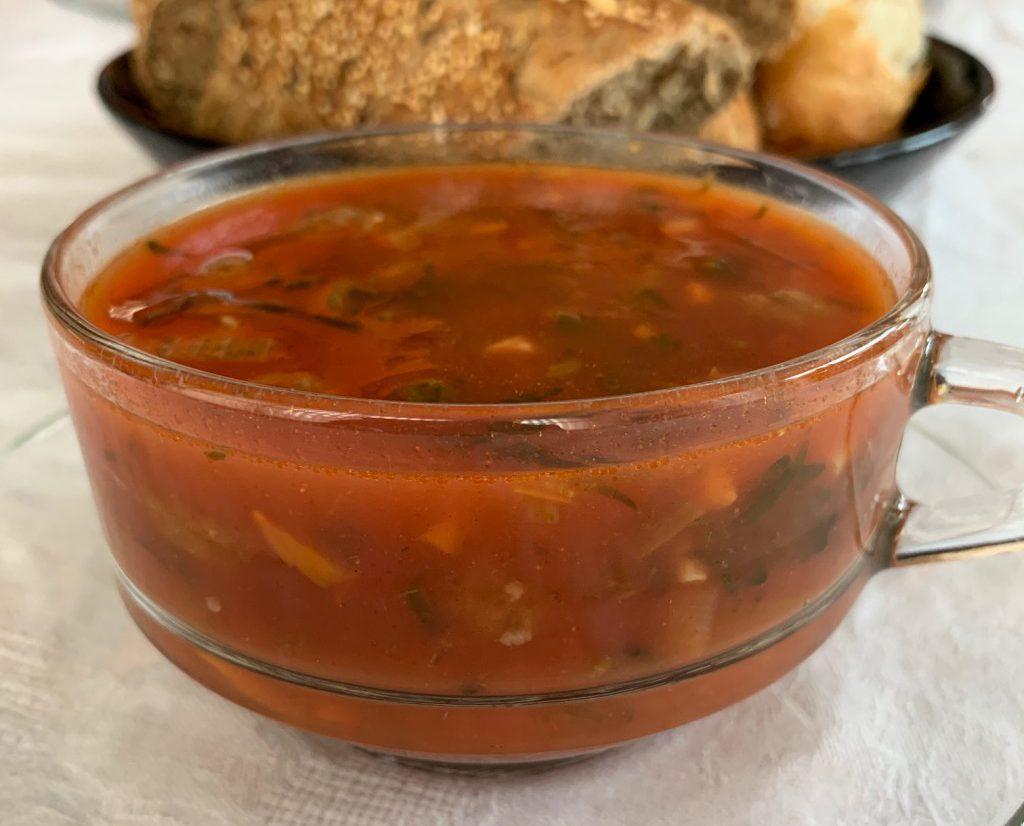 snelle tomatensoep recept