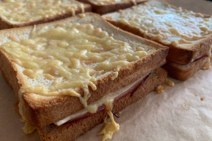 triple cheese tosti's recept
