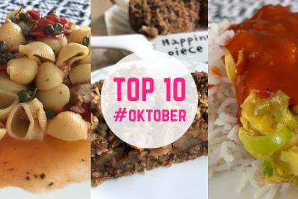 Top 10 recepten oktober