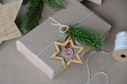 kerst cadeautstress foto