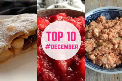 Top 10 recepten december