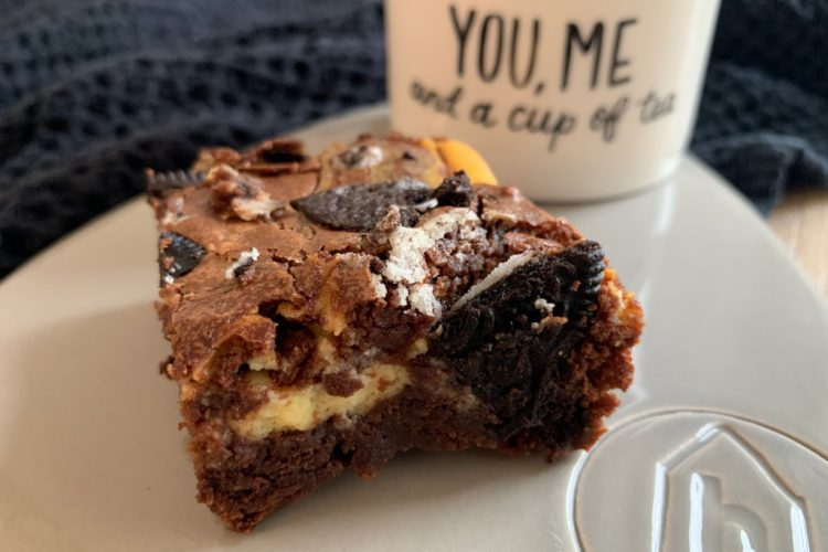 Oreo Cheesecake Brownies foto