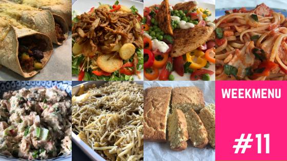 Weekmenu #11 Week zonder vlees recepten