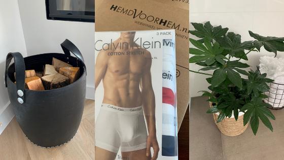Friday favorites #27: met een houtmand, een Fatsia en Calvin Klein foto