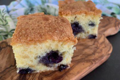 Blueberry cake foto