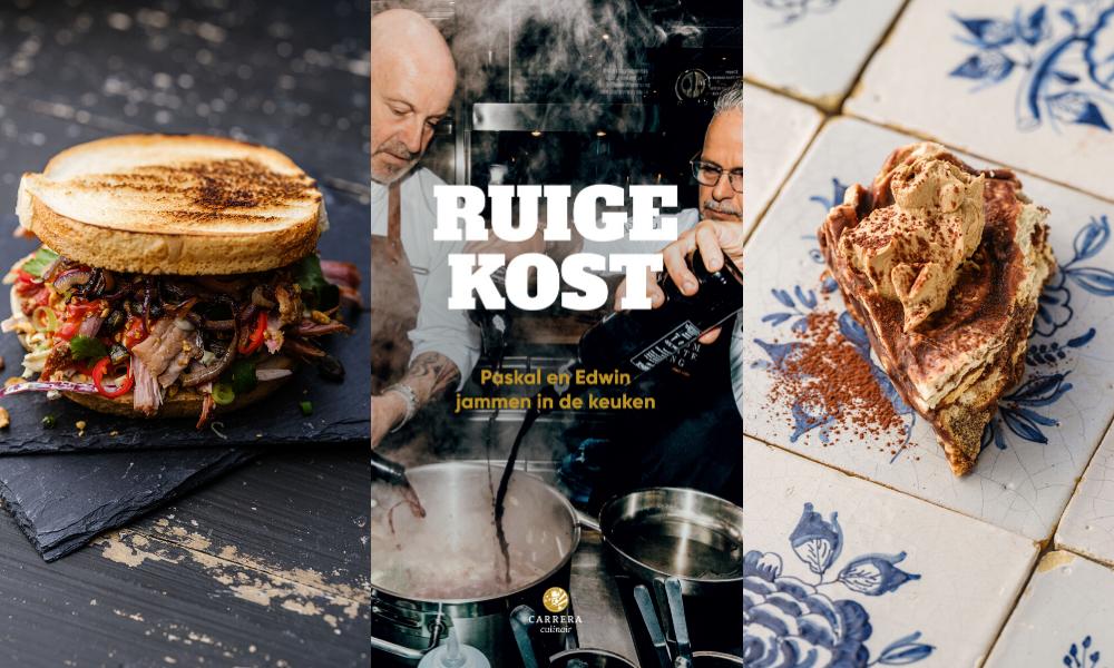 Ruige Kost Paskal en Edwin jammen in de keuken foto