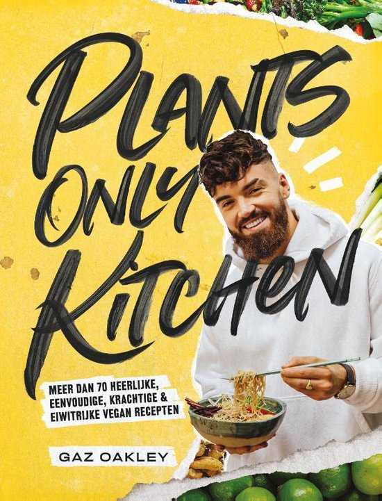 plants only kitchen omslag