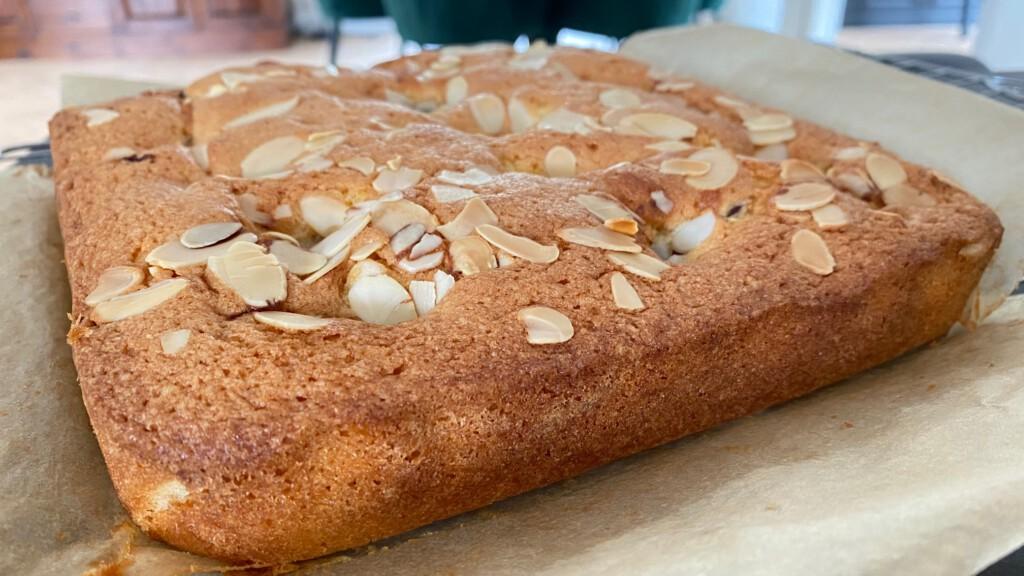 stoofperen cake recept foto