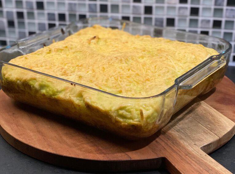spruitjesmousse uit de oven foto