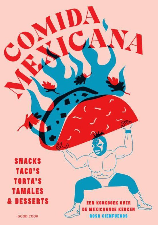 comida mexicana omslag