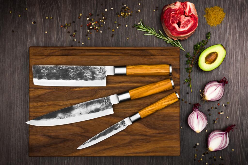 Olive Forged messenset 3-delige set sf gr 3