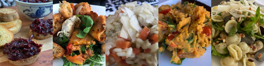Italian mood, Italian food: 5 Italiaanse recepten 5x