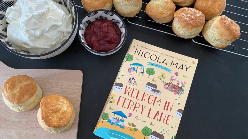 Welkom in Ferry Lane- review met scones recept foto